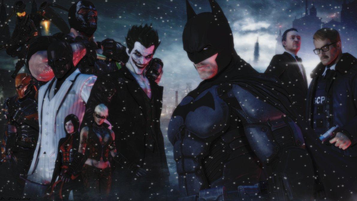 Batman Arkham Origins Wallpapers HD 1191x670