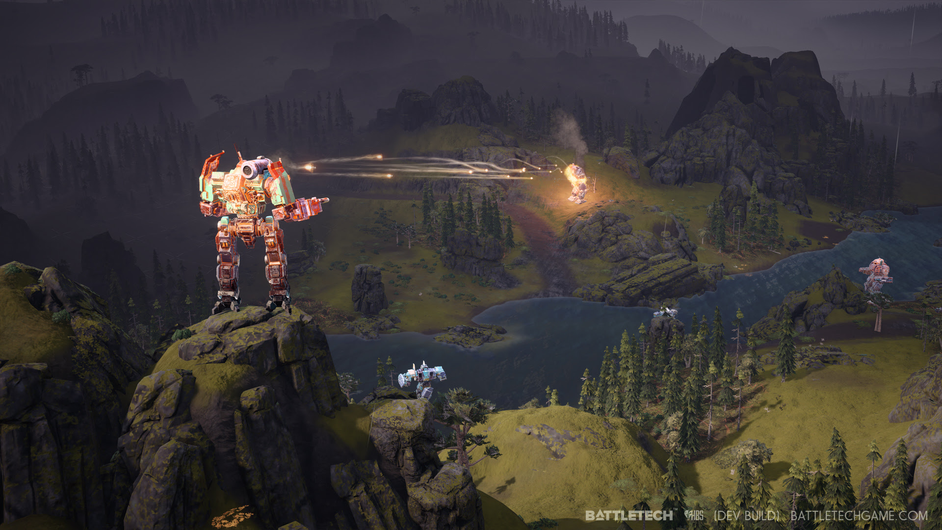 Turn Based Tactical Mech Game Battletech To Release This Year On