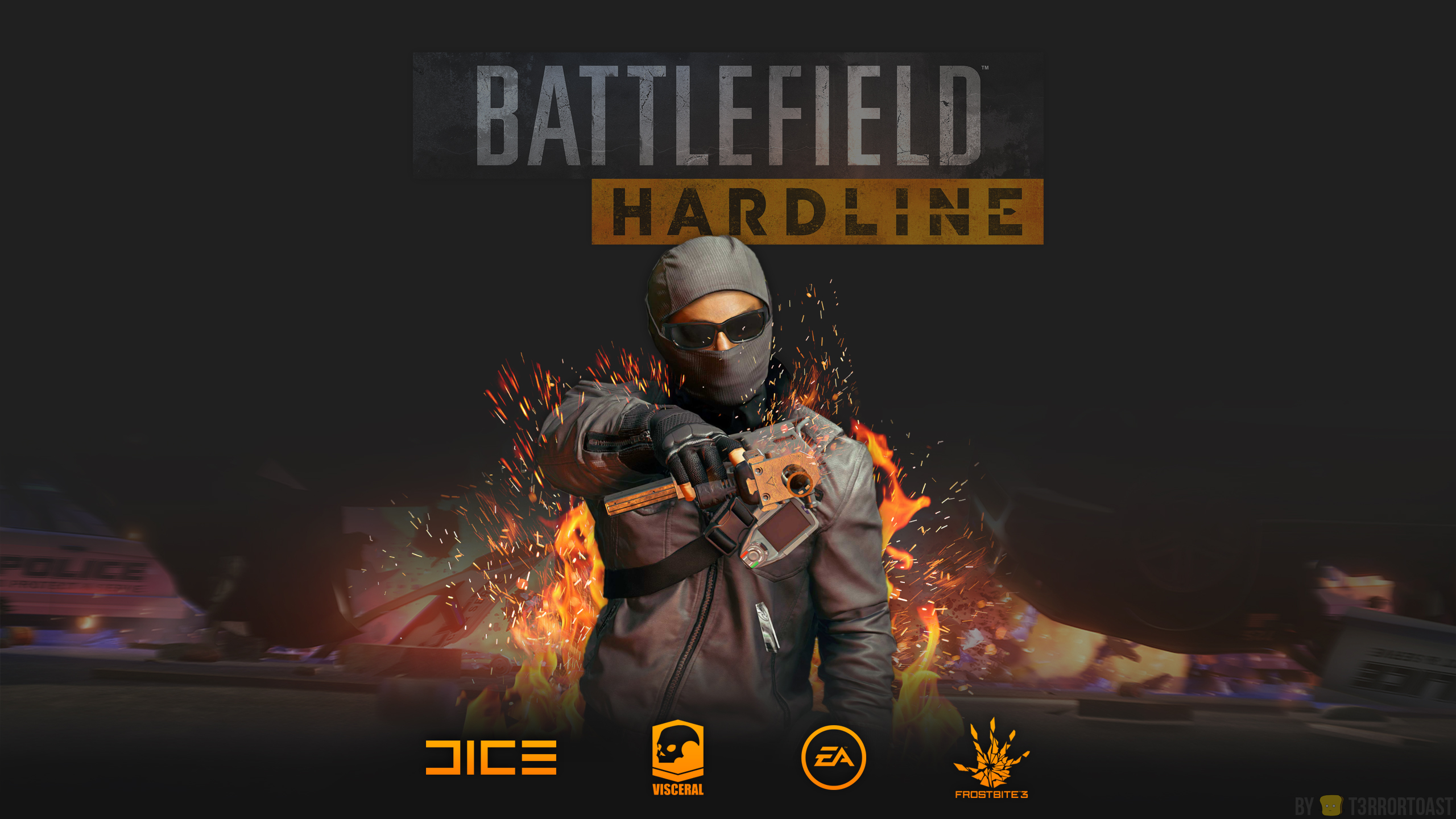 Battlefield Hardline Wallpaper Computer Wallpapers Desktop Backgrounds 2560x1440