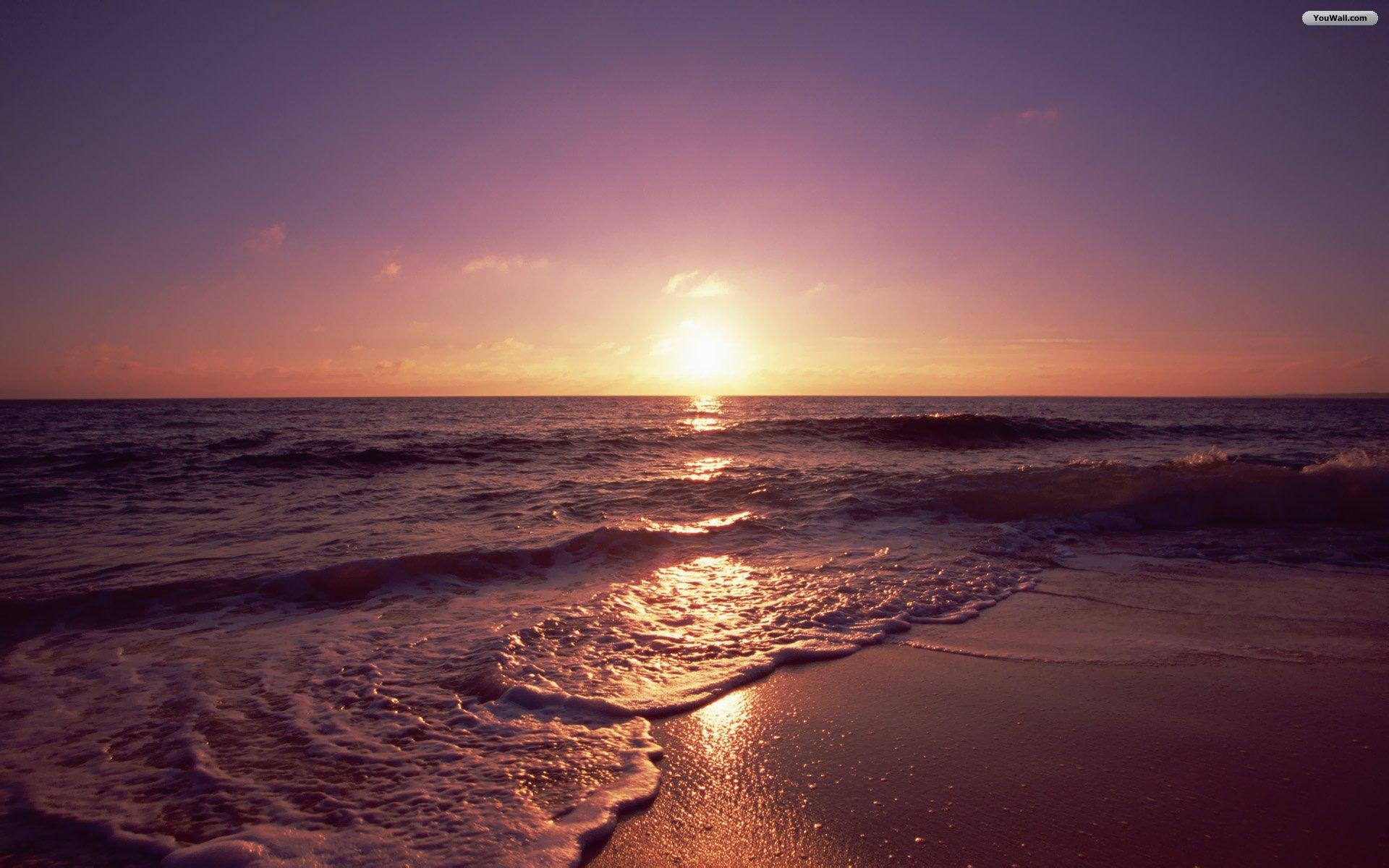 Beach Sunset Wallpapers 1920x1200