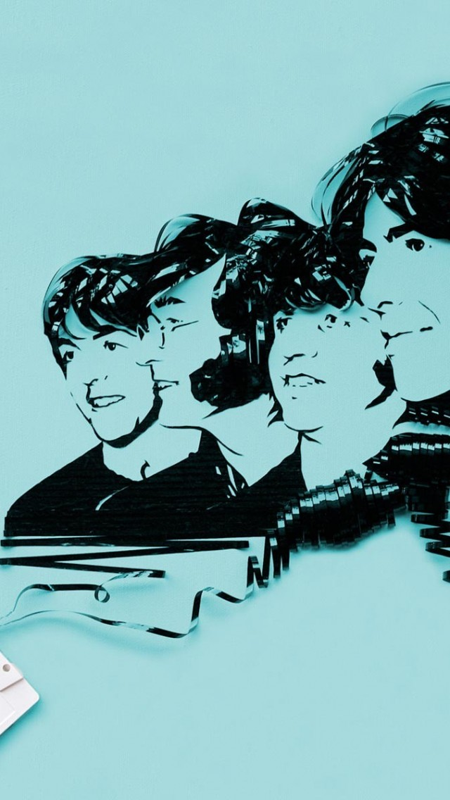 Let It Be The Beatles Sheet Music IPhone Wallpaper Iphone Uk