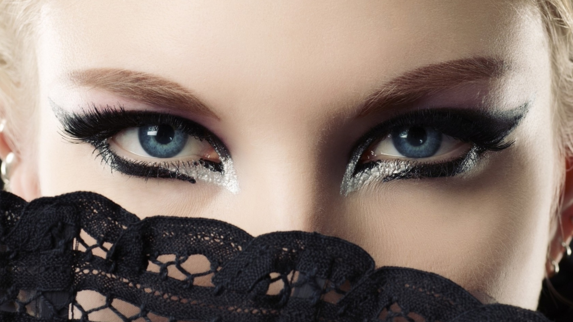 Attractive eyes art design stock images  free download 1920x1080