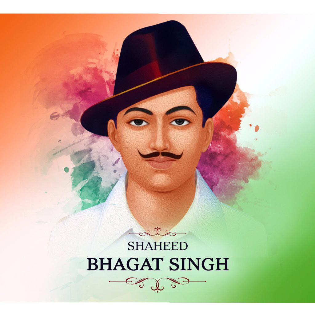 Independence Day With Shahid Bhagat Singh Wallpaper
