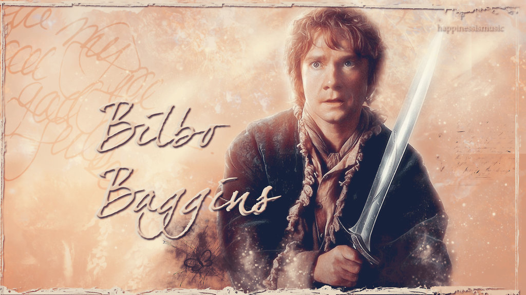 Bilbo Baggins wallpaper by HappinessIsMusic on DeviantArt 1024x576