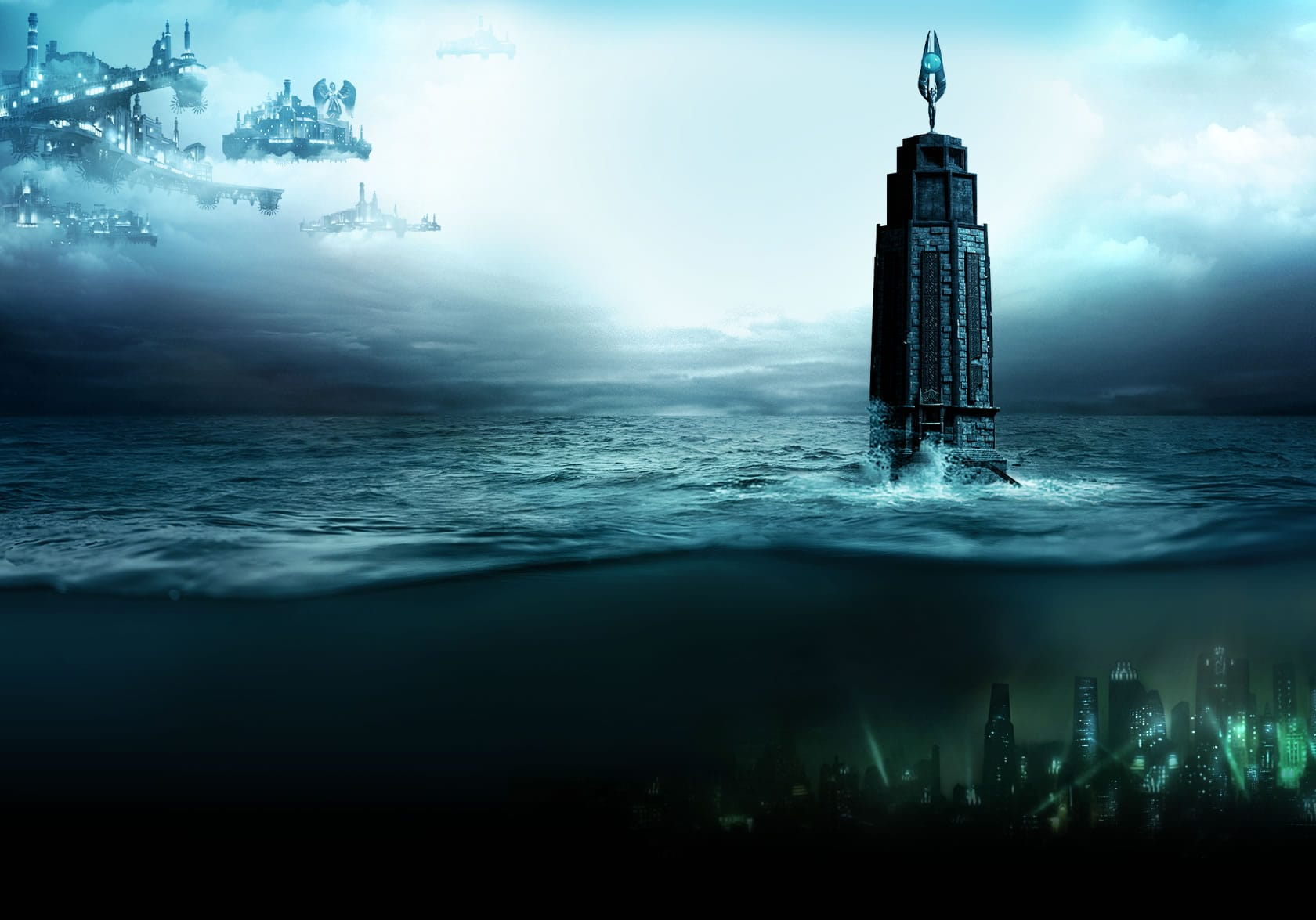 Bioshock  Desktop Wallpaper  PixelsTalk BioShock Wallpapers  Wallpaper  1680x1175