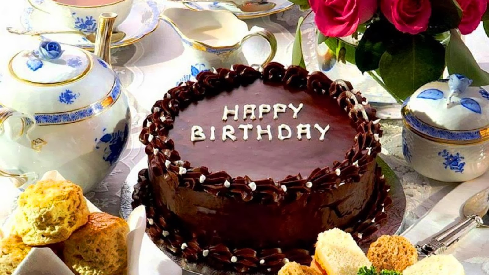 Best Happy Birthday Cake Wallpapers and Facebook Status Happy 1600x900