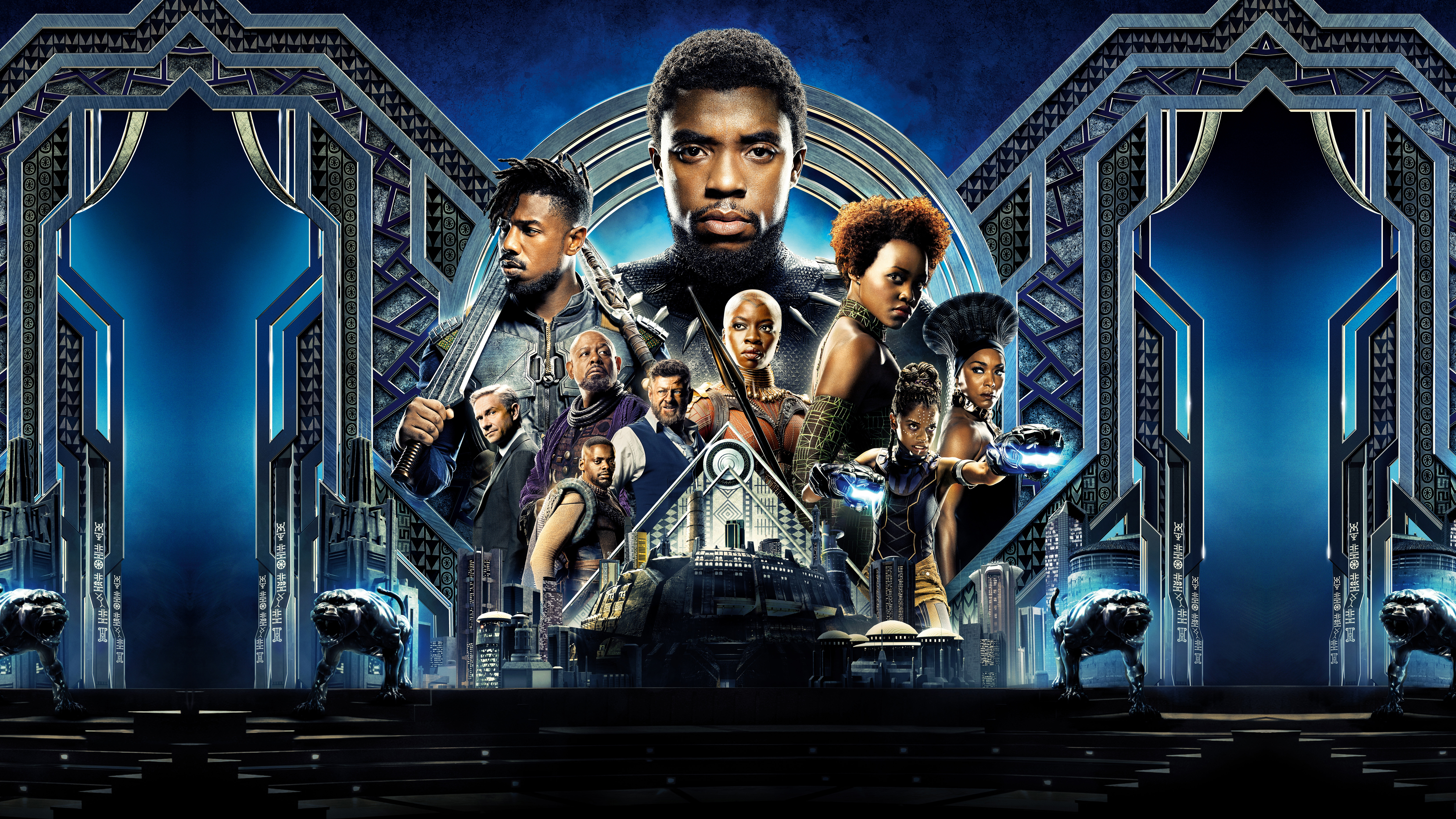 Black Panther HD Wallpapers Background Images Wallpaper