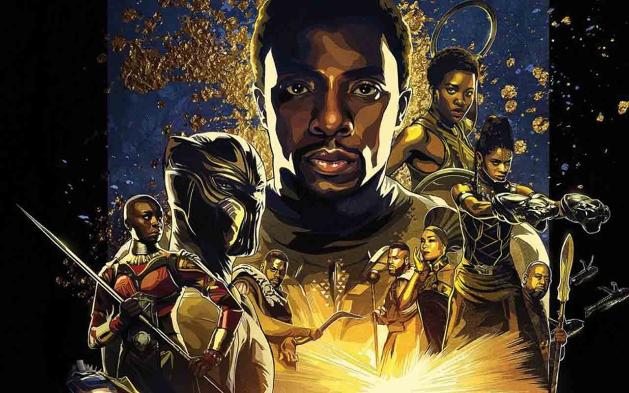 Wallpaper Black Panther Movie Release Date Hd