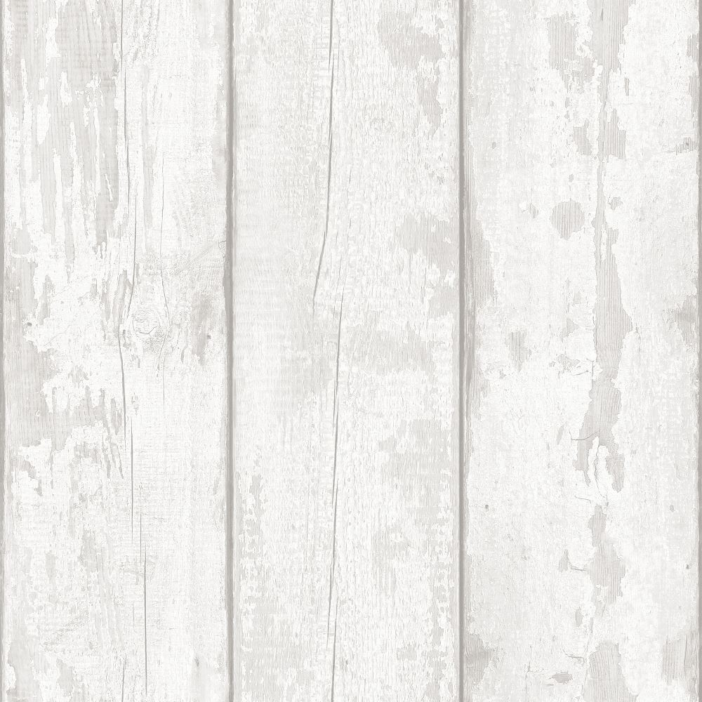 Arthouse White Washed Wood Panel Pattern Wallpaper Faux Effect .au