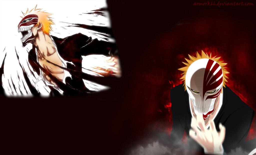 Download Bleach Kurosaki Ichigo Hollow Mask Free Wallpaper 1024x621