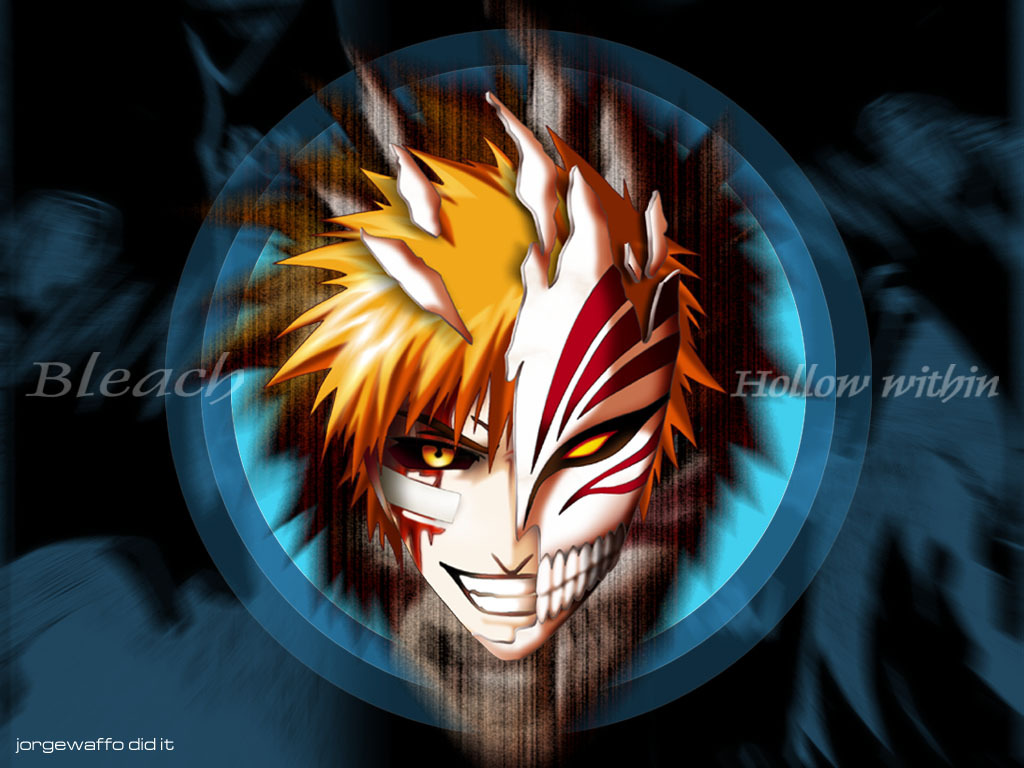 Download Ichigo Hollow Mask Wallpapers To Your Cell Phone Bleach 1024x768