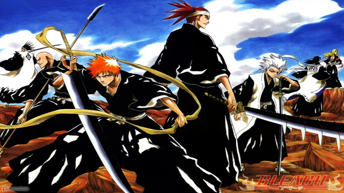 Bleach Hollow Wallpapers Full HD Mask Desktop Background 1366x768