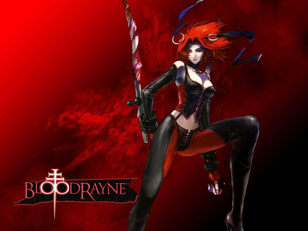 BLOODRAYNE action adventure fantasy vampire dark fighting warrior