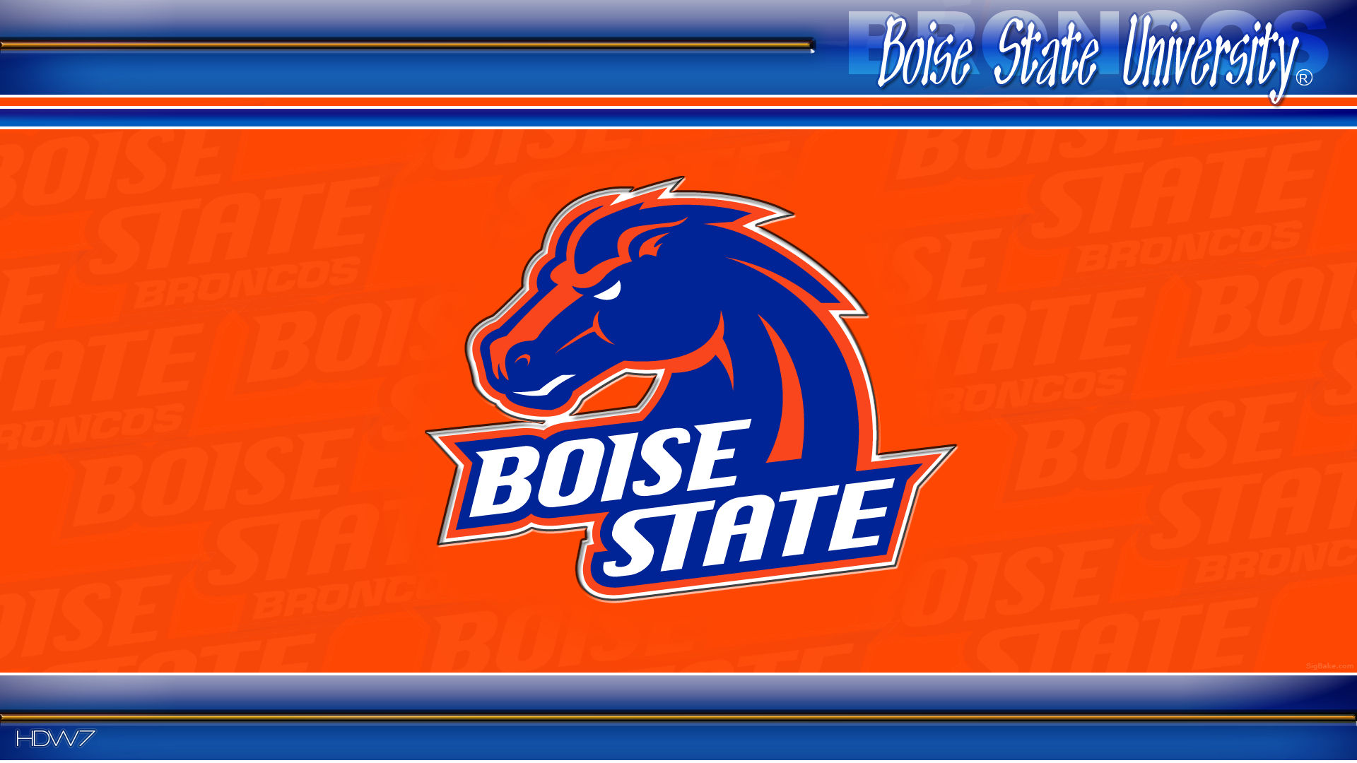Boise State Wallpapers  WallpaperPulse 1920x1080