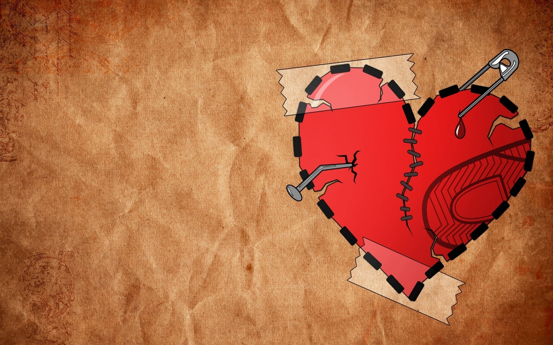 Collection of Broken Heart Pic on HDWallpapers 1920x1200