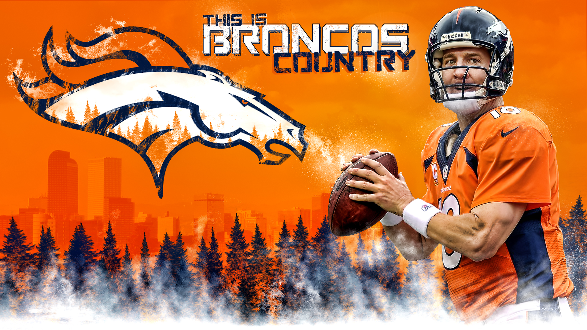 Denver Broncos Wallpaper For Android, HD Denver Broncos 1920x1080