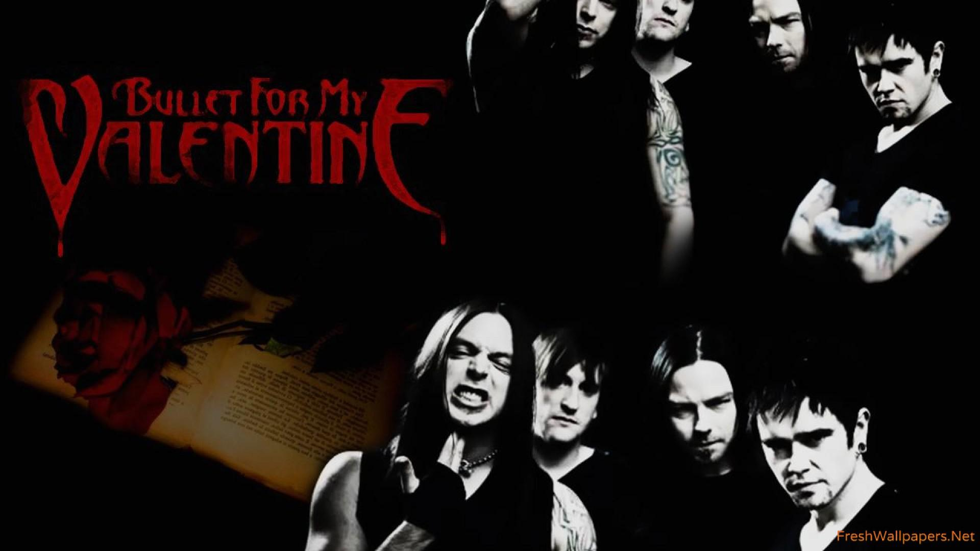 Download wallpaper x bullet for my valentine band members