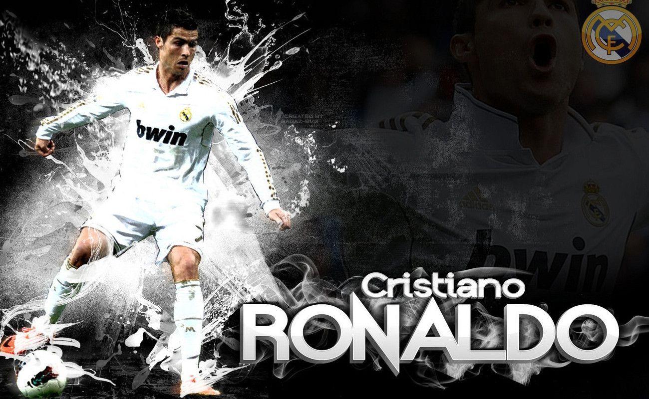 Cristiano Ronaldo In Green Shirt Wallpaper Cristiano Ronaldo 1300x800