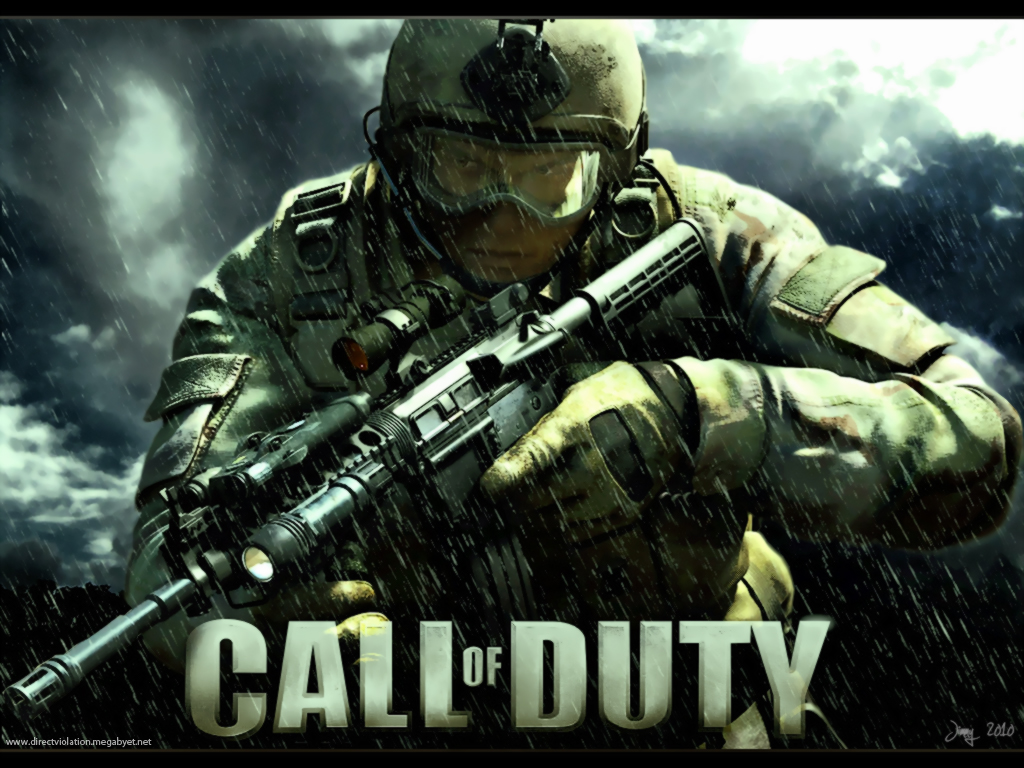 Iphone Video Game Call Of Duty Modern Warfare Wallpaper 1024x768