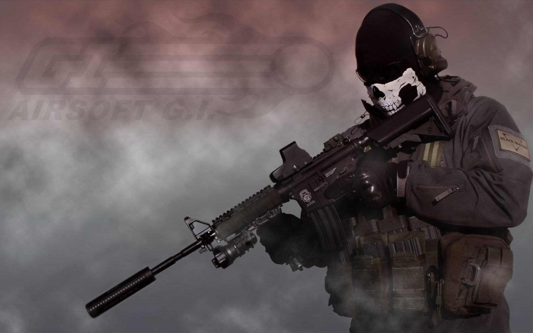 Wallpaper Call Of Duty Ghosts 1848x1155