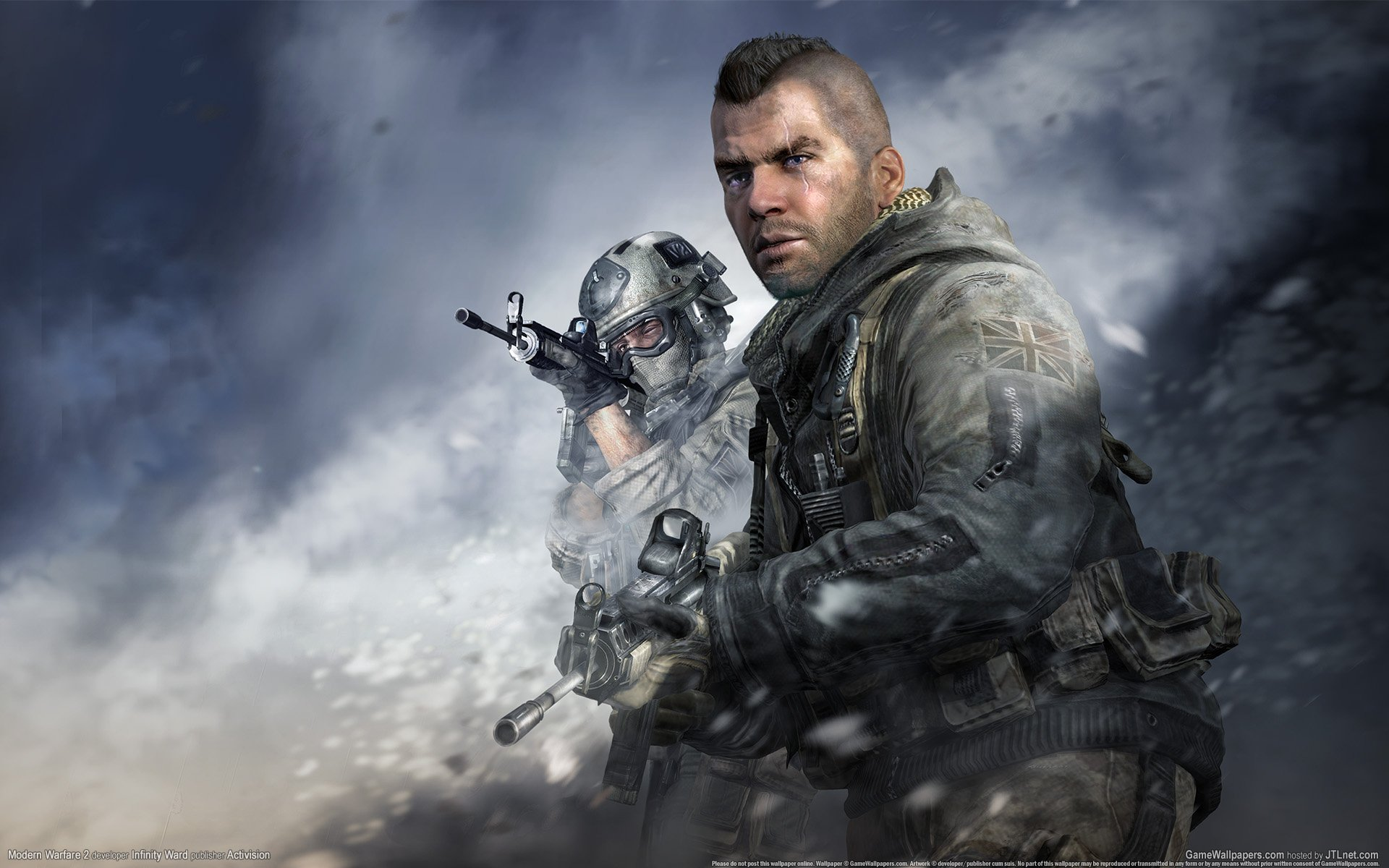 Call Of Duty Modern Warfare Wallpaper Game Wallpapers 1920x1200