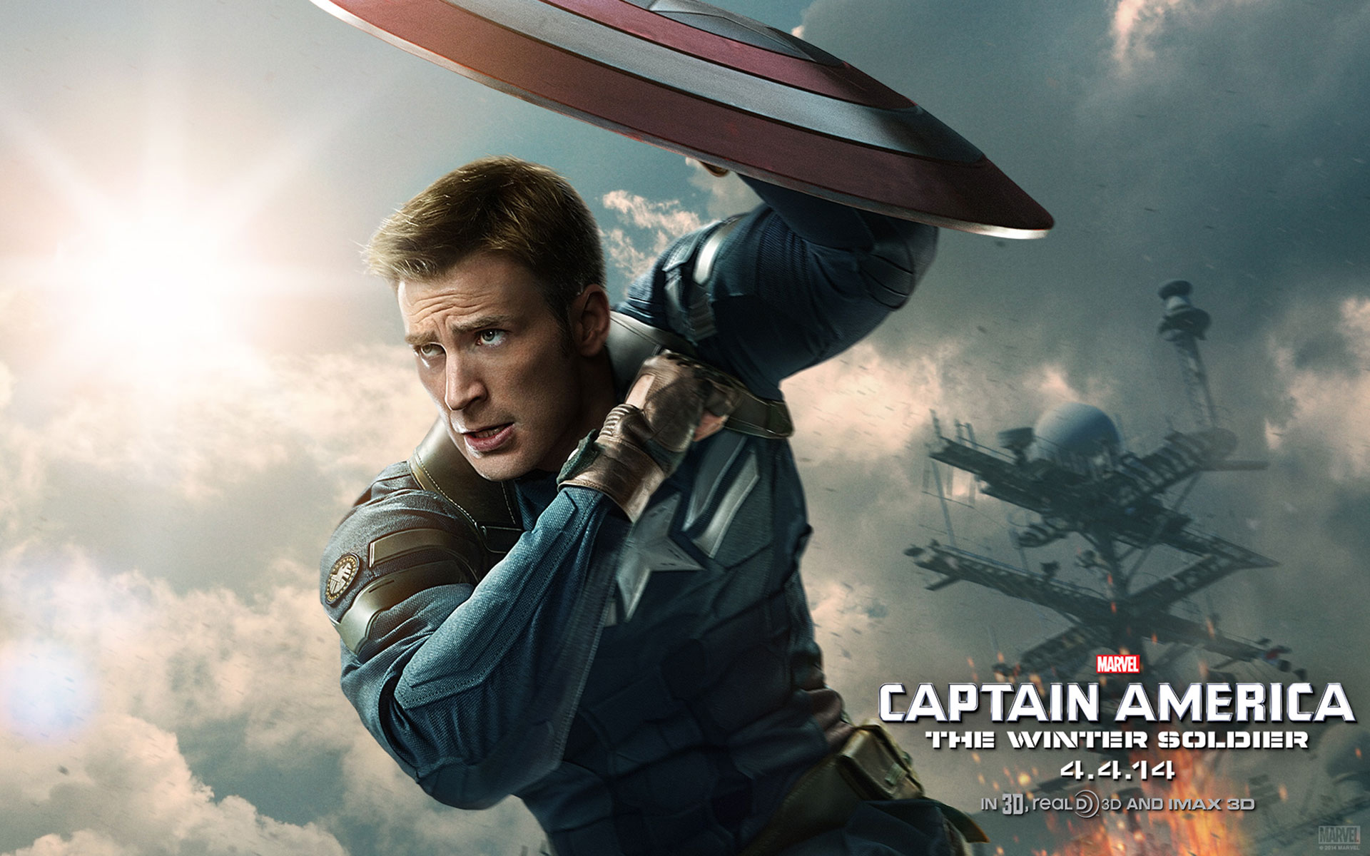 Captain America Hd Wallpapers Free Download 1920x1200