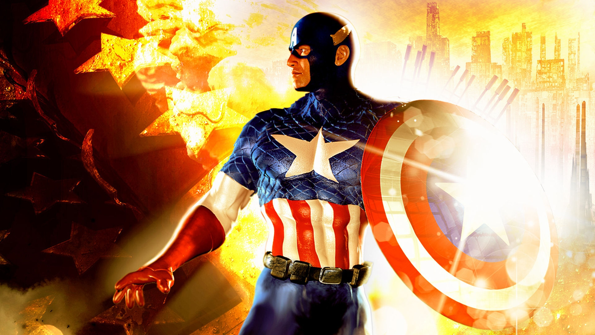 Captain America HD wallpapers free download 1920x1080