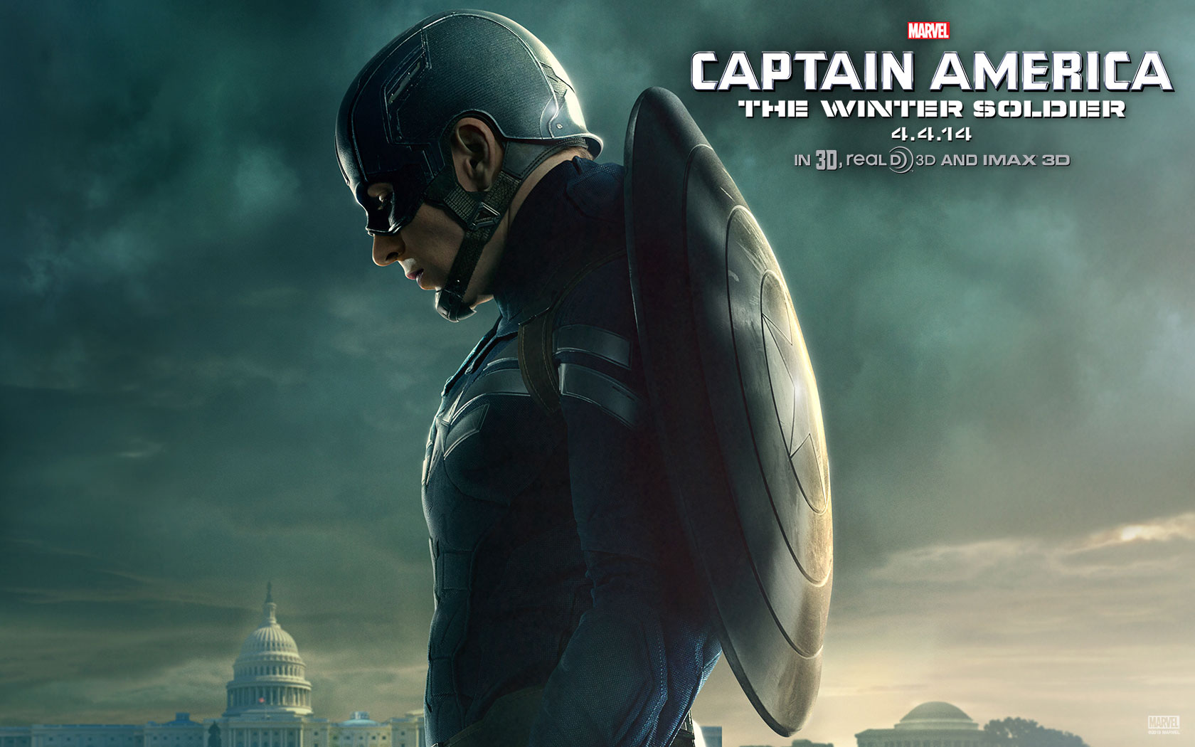 WallpapersWide Captain America Wallpapers Free Download 1680x1050