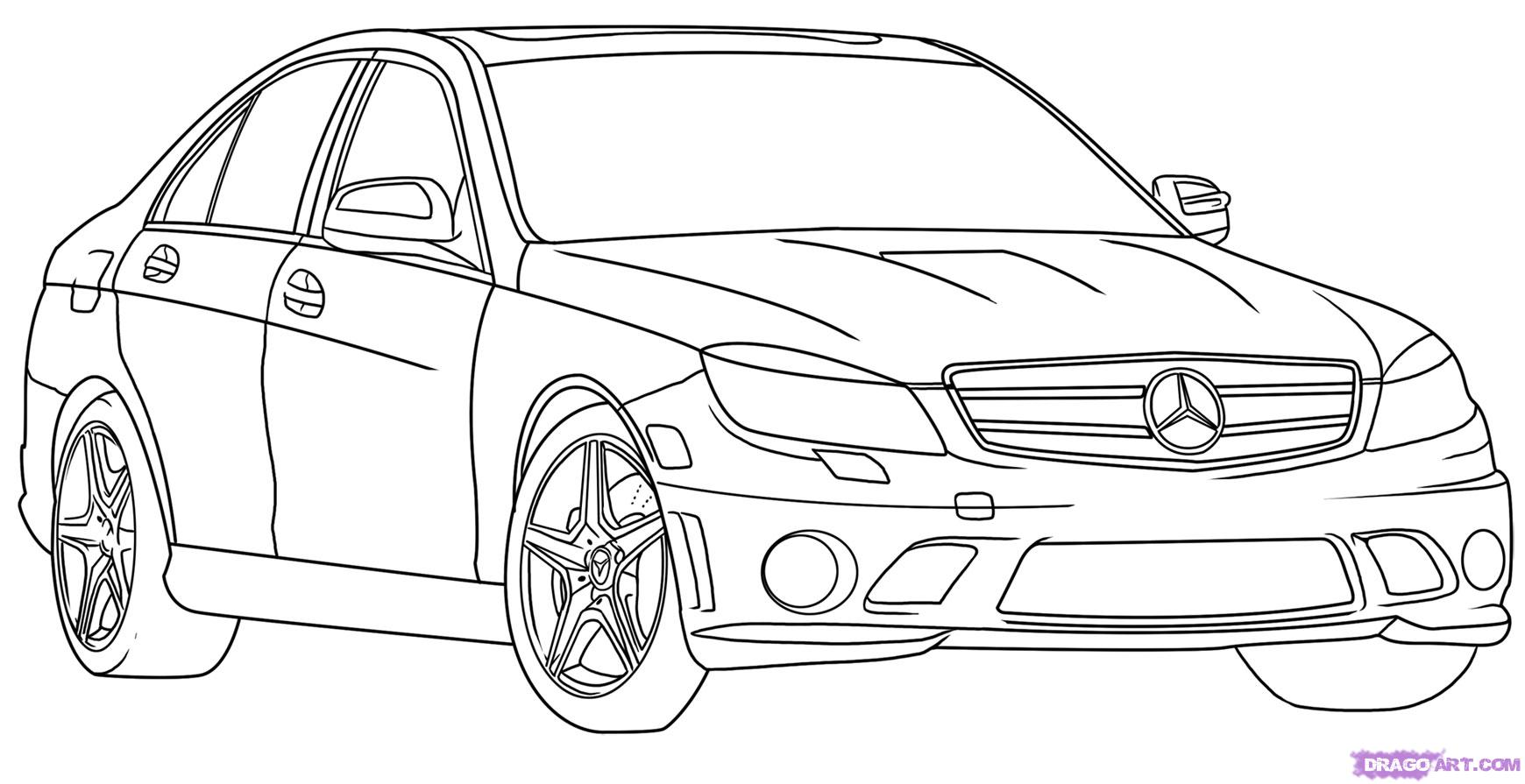 Car Drawings In Pencil, Wallpapers and Photos In HD Quality 1740x895