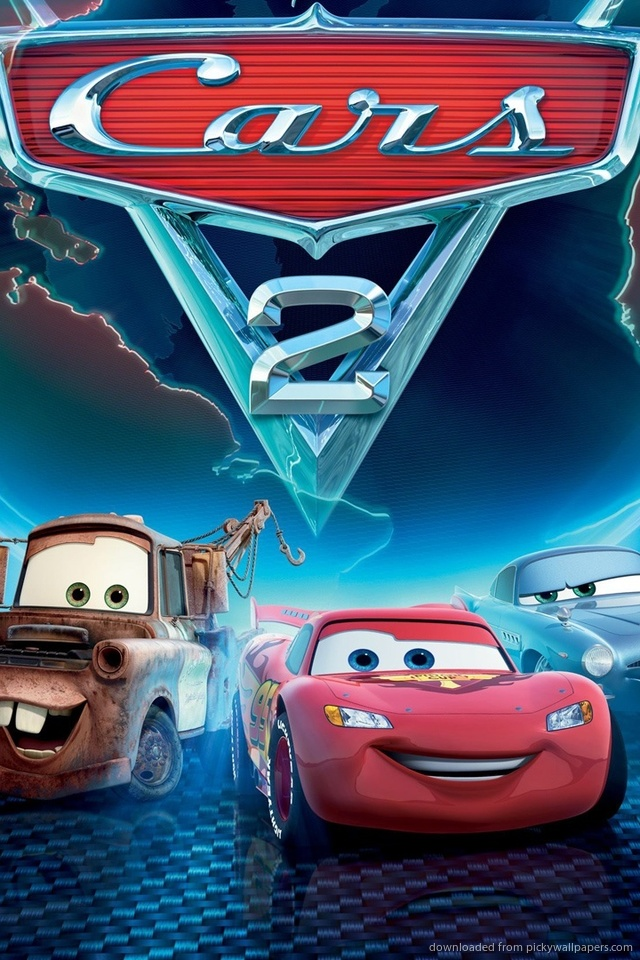 Holley Shiftwell In Cars Movie Wallpapers Hd Wallpapers 640x960