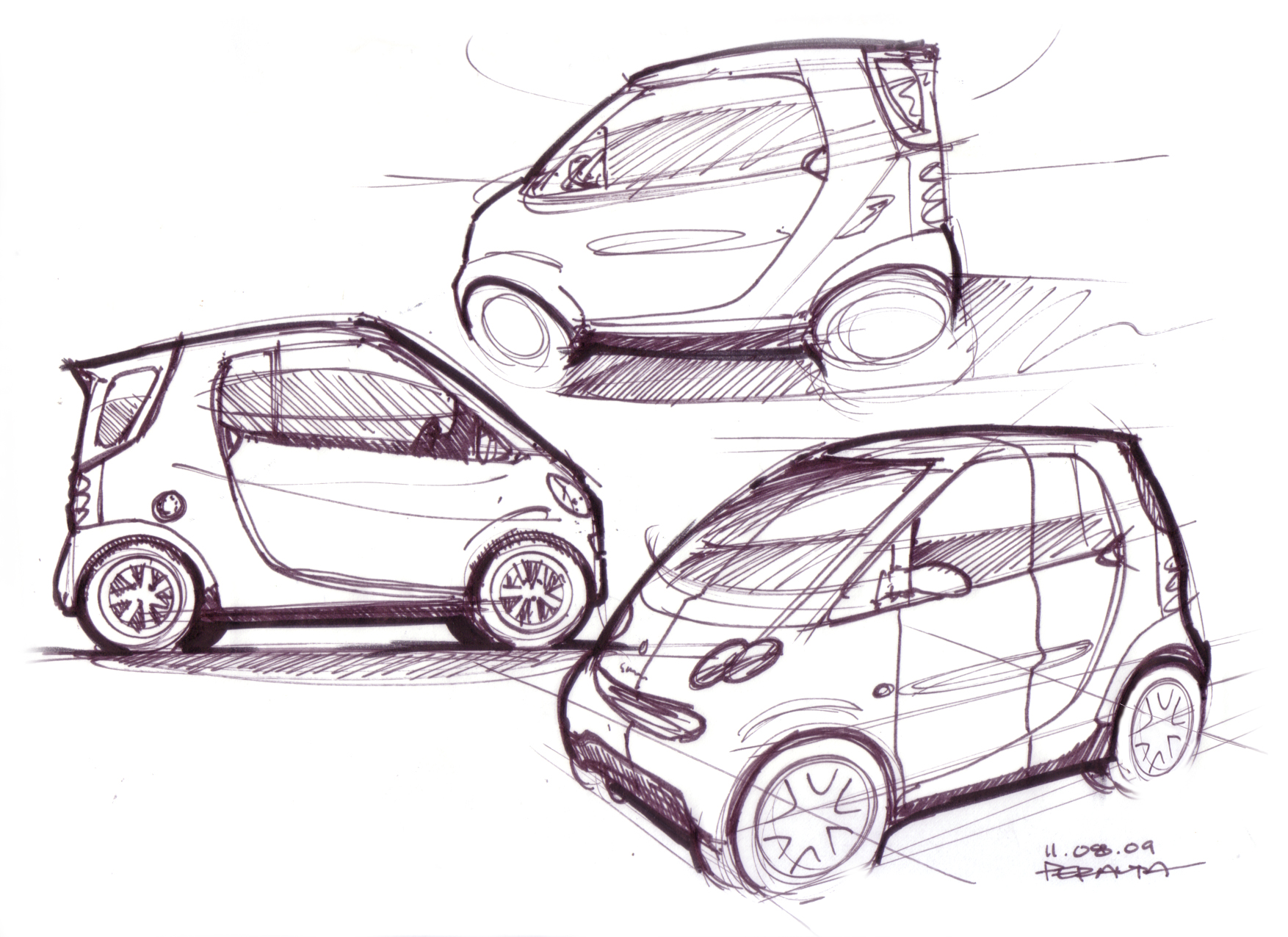 Collection of Car Drawings In Pencil on HDWallpapers 1754x1276