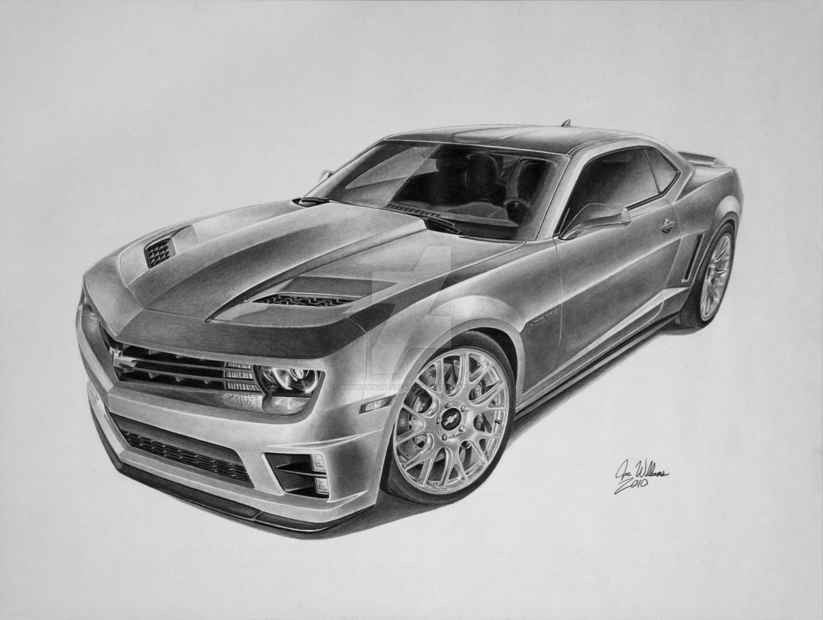 Cool Car Drawings In Pencil Wallpaper Iphone Camaro Side View 1600x1205