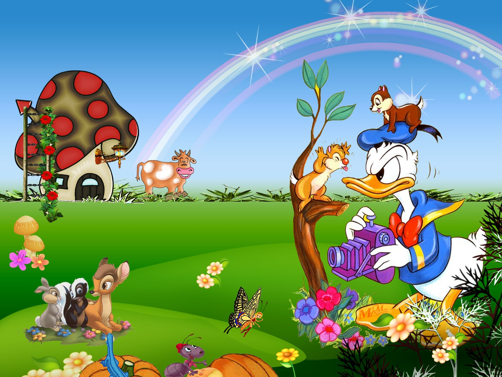 WallpapersWide Wallpapers of Cartoons   1600x1200