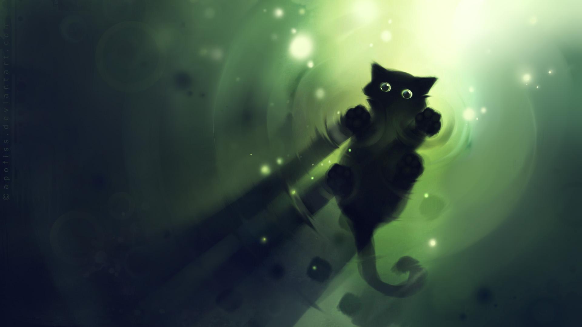 Black Cat Hd Wallpaper Download Hd Wallpapers 1920x1080