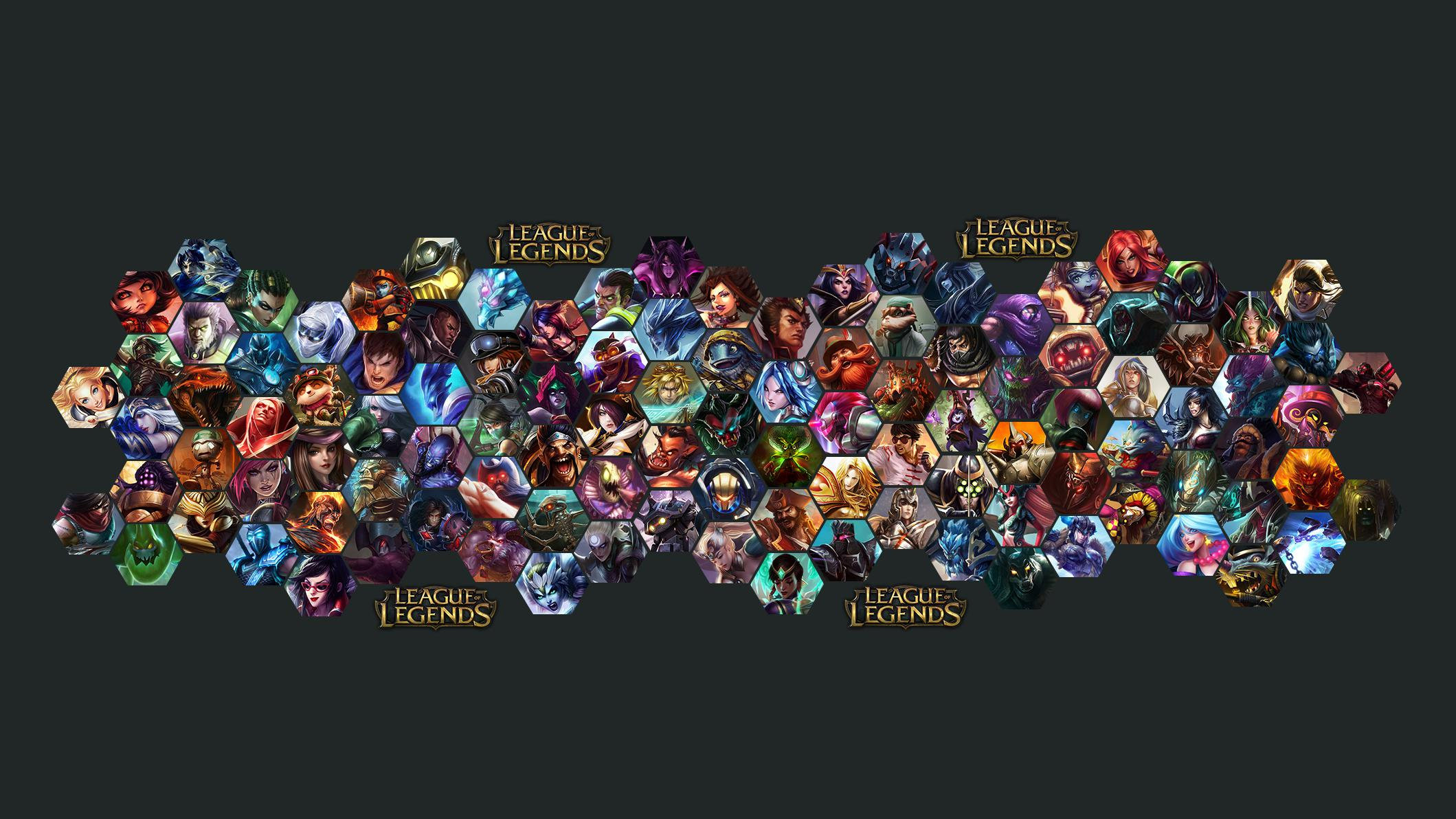 League of Legends Wallpaper Champions GIGA