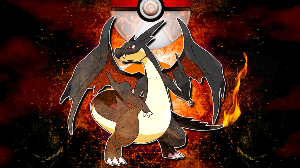 Charizard Phone Wallpaper 1024x576