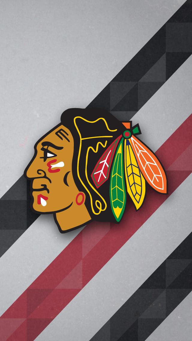 Chicago Blackhawks Wallpaper For IPhone 640x1136