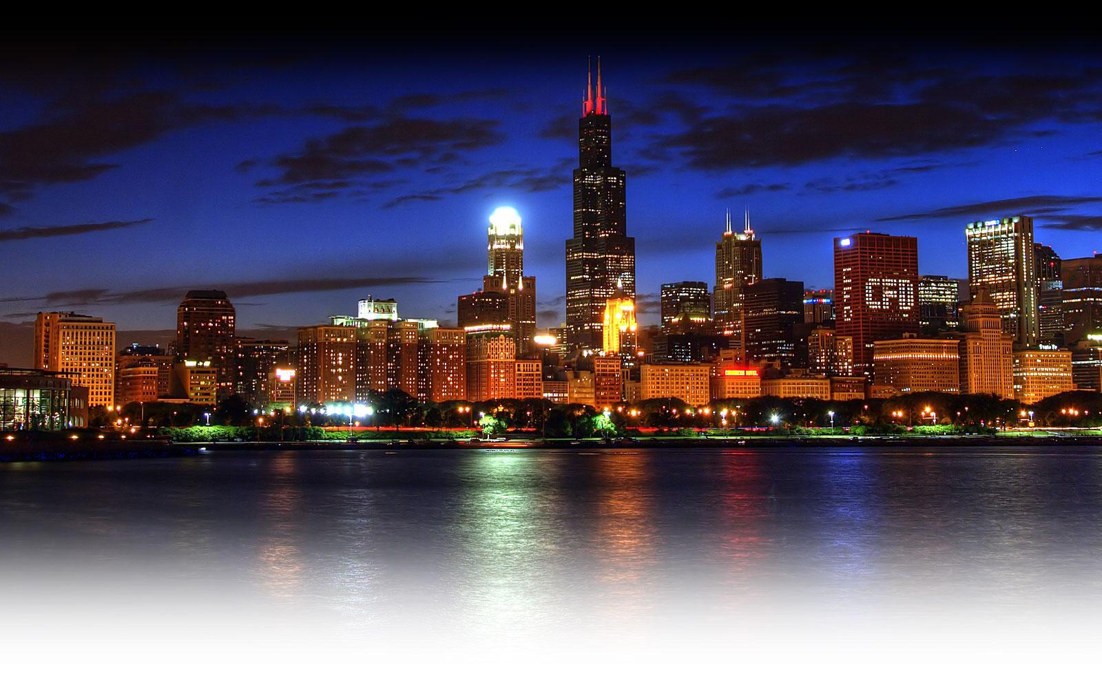 Chicago skyline wallpaper best cool wallpaper hd download 1600x1014 voltagebd Gallery