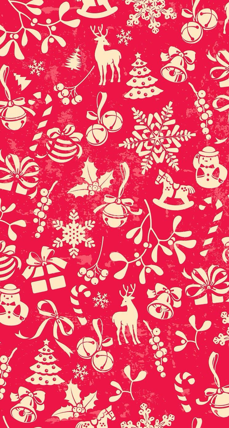 Ideas About Christmas Wallpaper On Pinterest Iphone 744x1392