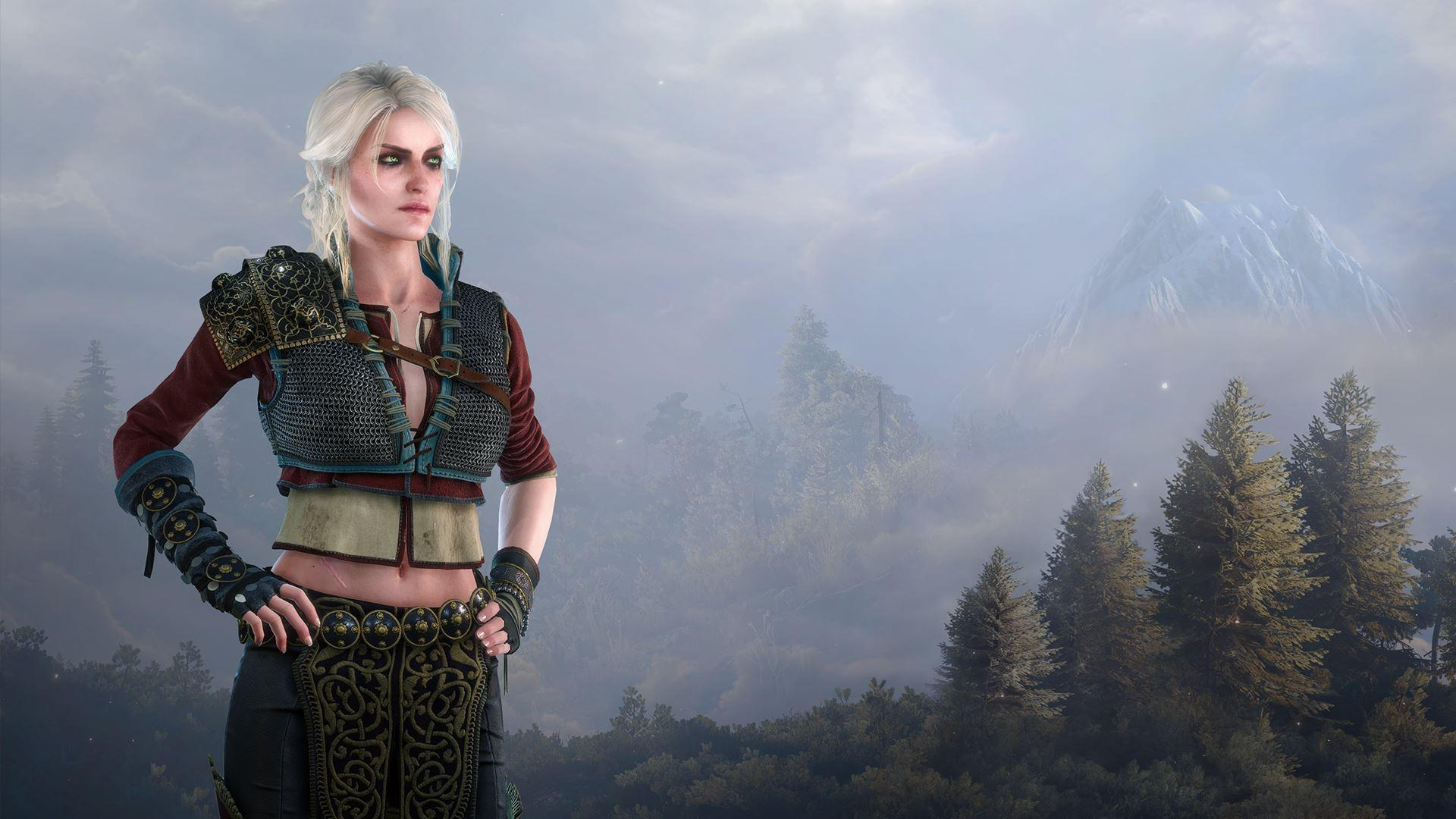 Geralt Ciri Combo p Wallpaper Made By me Feedback Greatly
