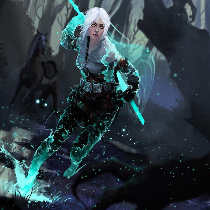 Ciri The Witcher HD Wallpapers Background Images Wallpaper