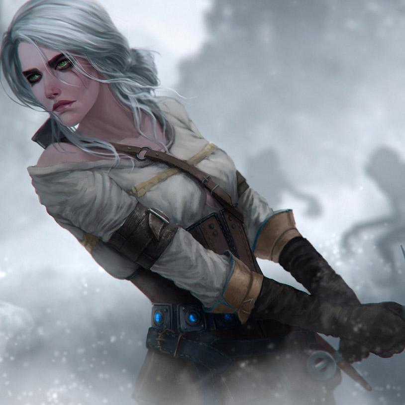 The Witcher The Tower of the Swallow Ciri wallpapers Album on