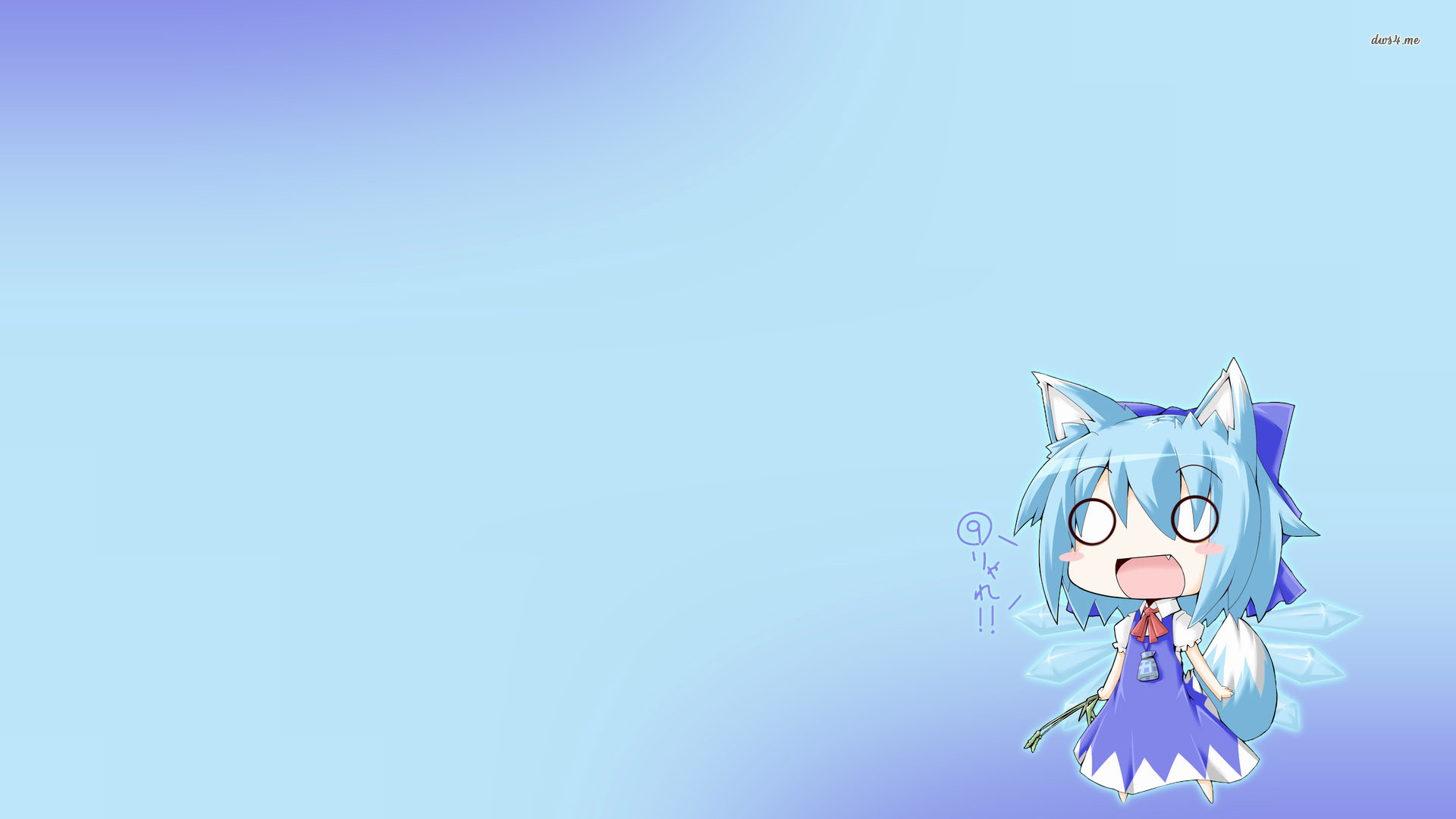 Touhou Cirno Simple HD Wallpapers, Desktop Backgrounds, Mobile 1920x1080