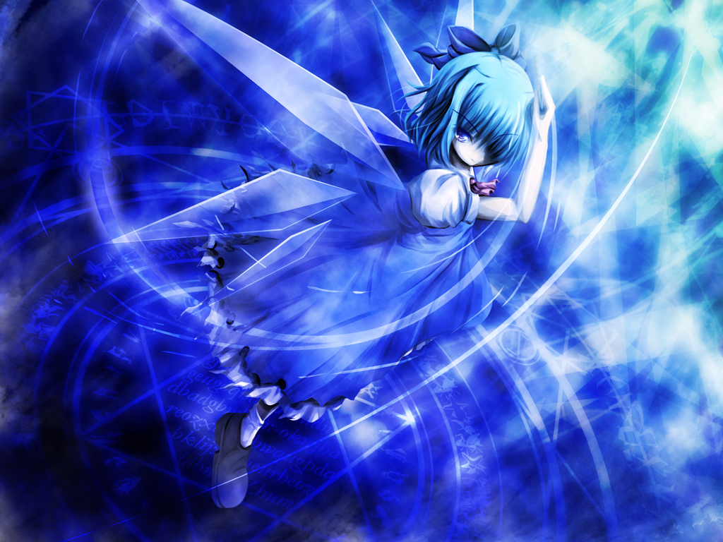 Amazing Cirno Wallpaper  All For You Wallpaper Site 1024x768