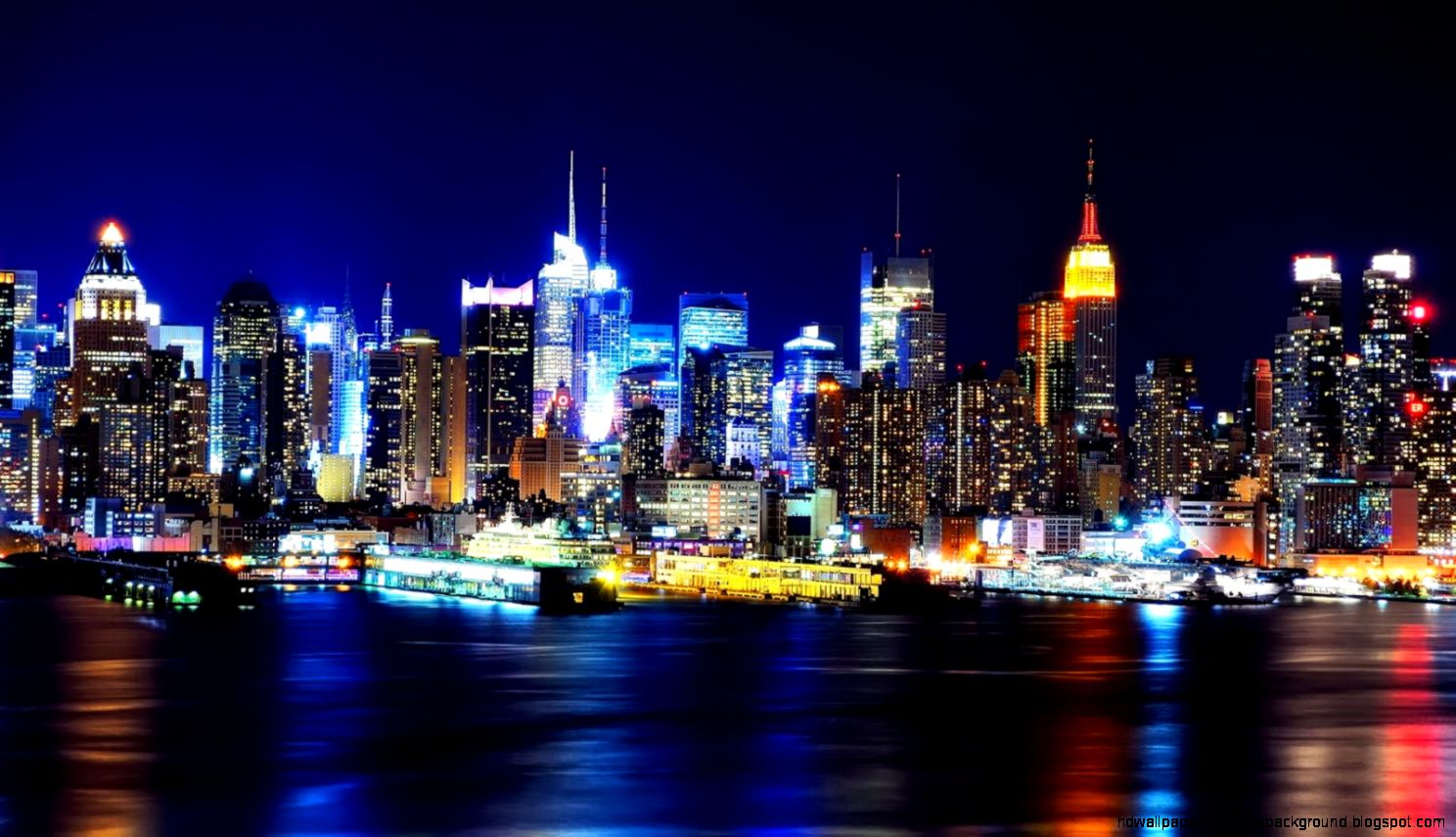 New York City Wallpapers Widescreen Group  1488x855