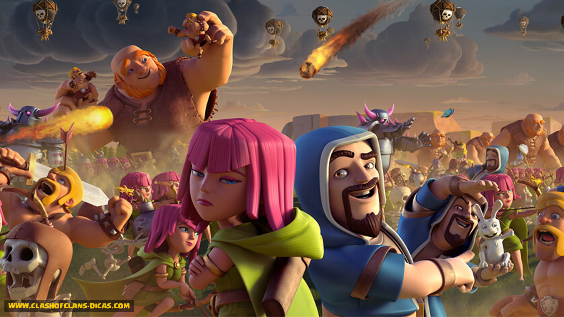 Clash of Clans HD Wallpapers  Clash of Clans Land 1920x1080