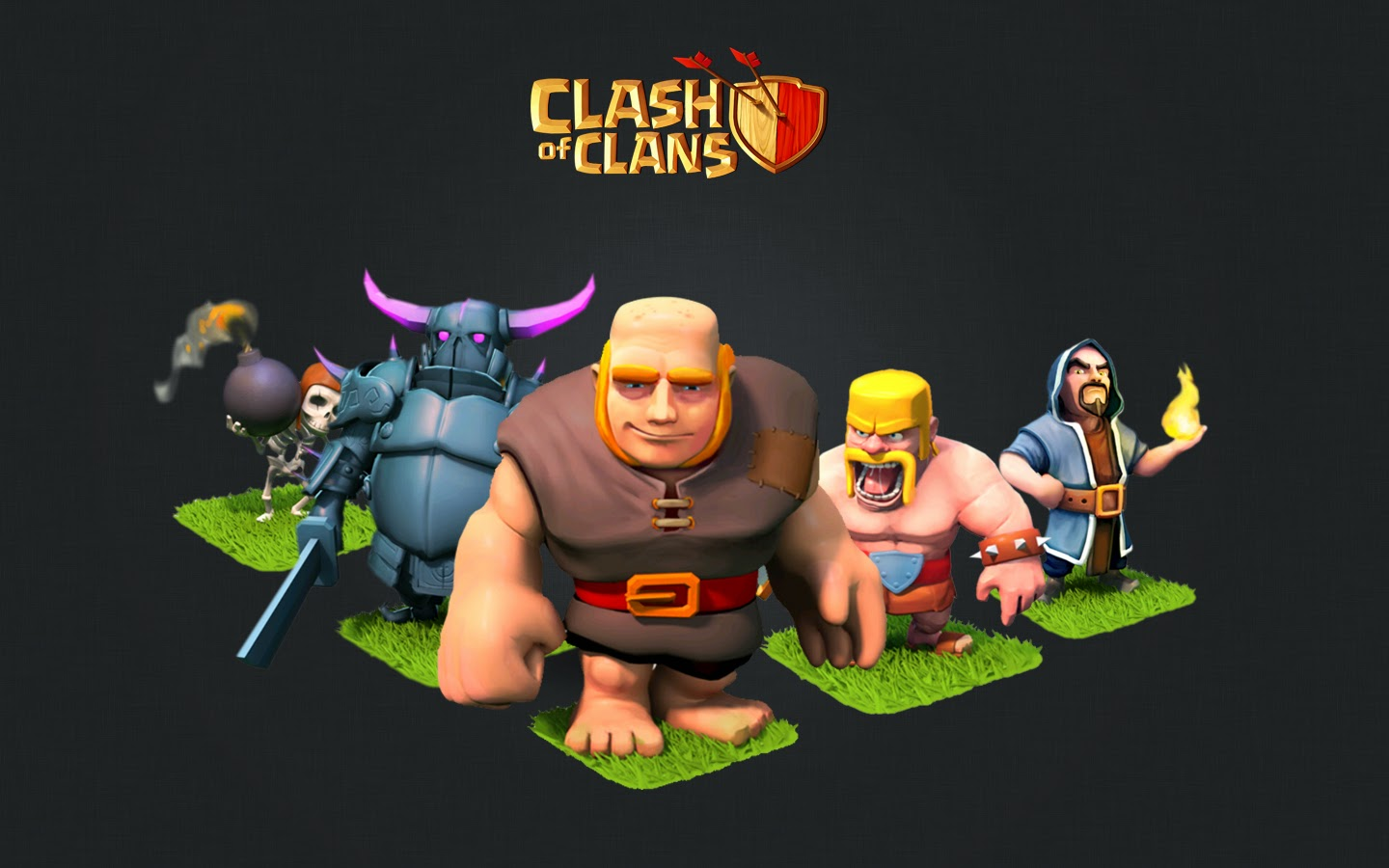 Clash of Clans Wallpaper Background px 1440x900