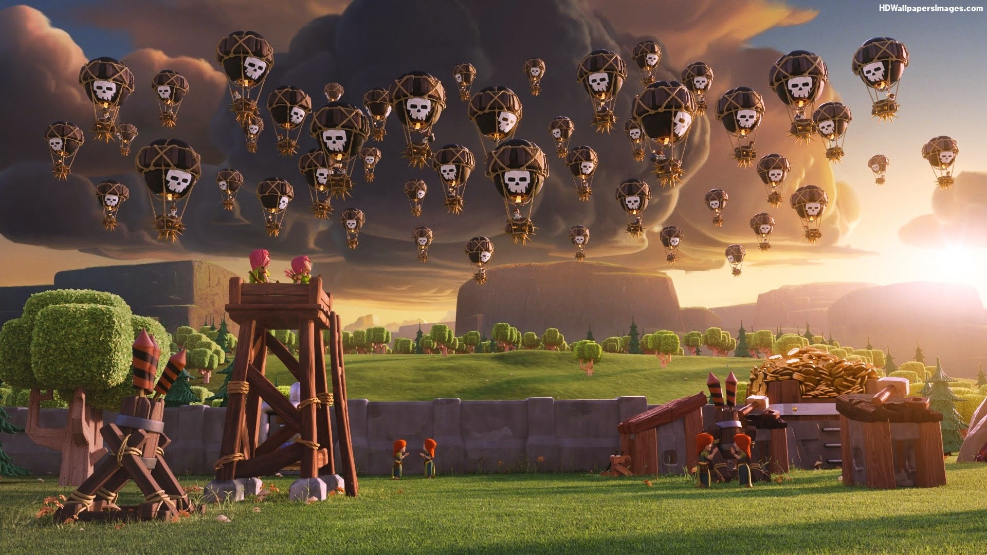 Clash of Clans Compilation Wallpapers  Clash of Clans Wallpaper 1920x1080