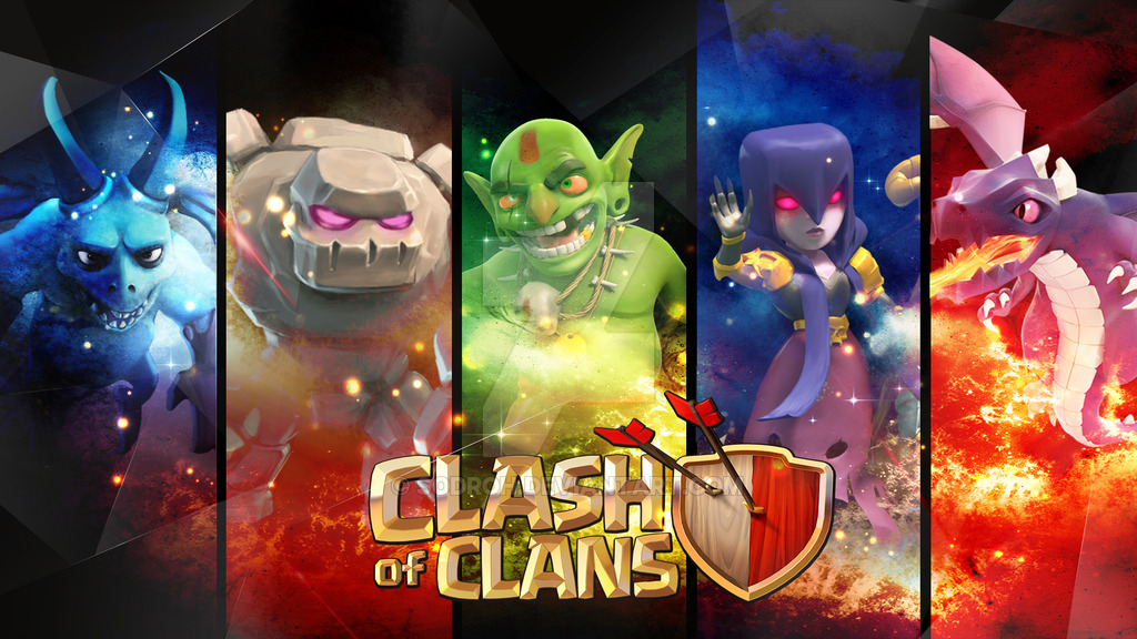 Clash of Clans HD Wallpapers  Clash of Clans Land 1024x576