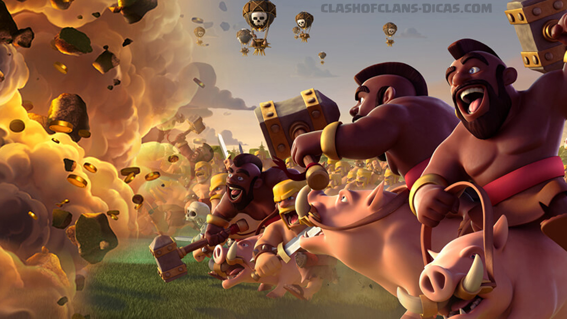 Clash Of Clans Wallpapers Wallpaper 1920x1080